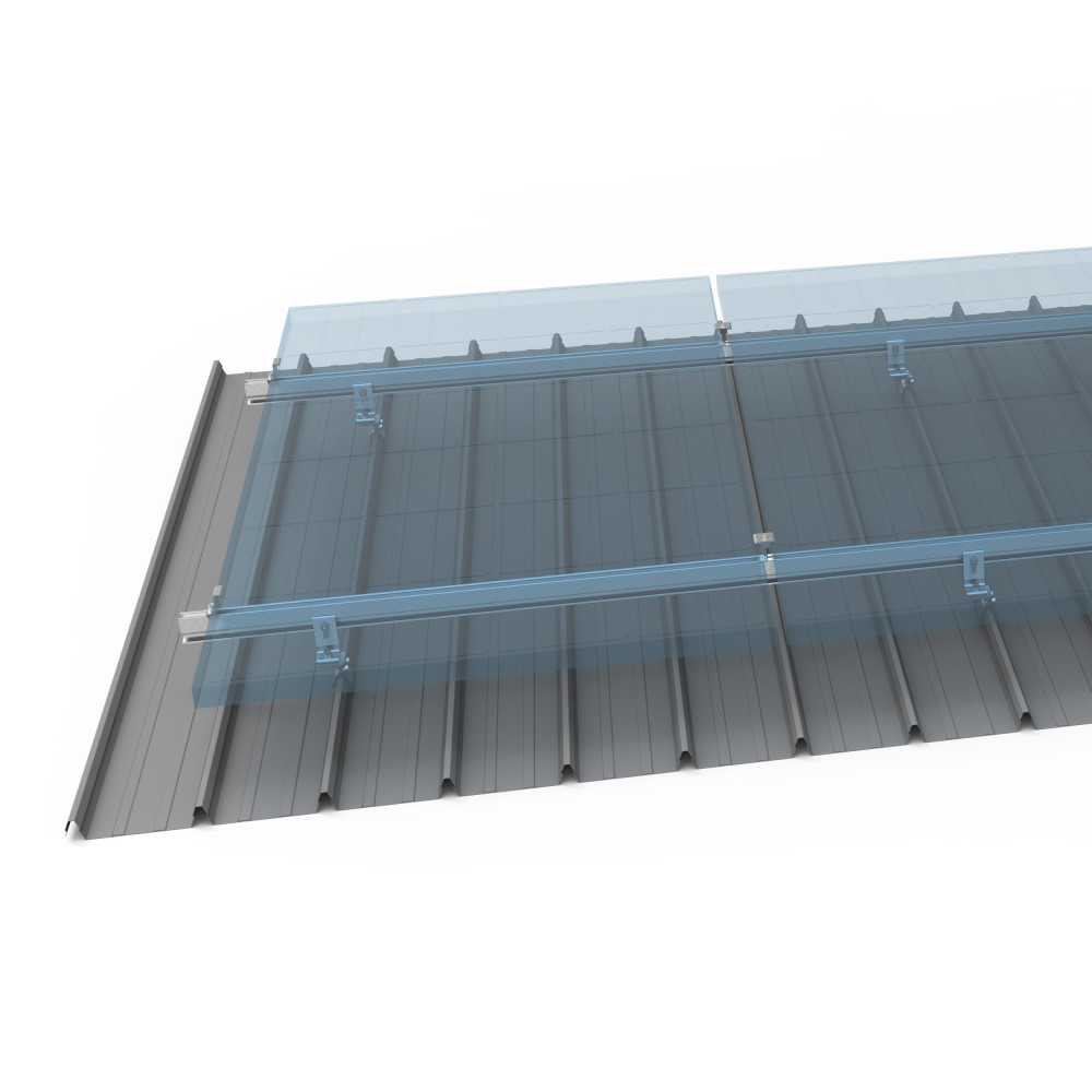 Standing seam roof mounting from China solaracks