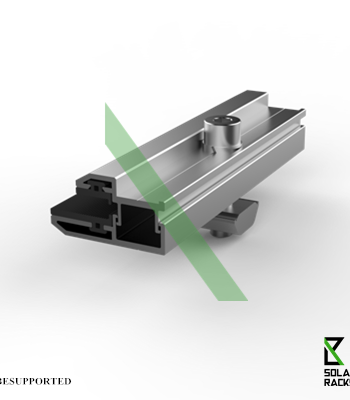 Frameless end clamp- FEC