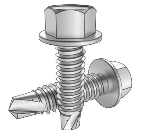 SUS 410 self-tapping screw