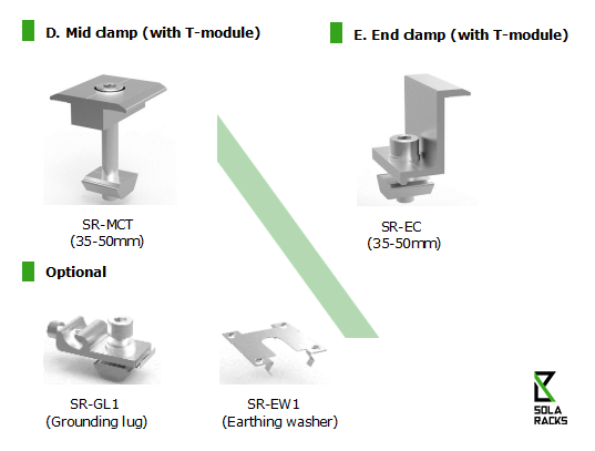 pitched roof mounting system, metal sheet roof mounting system, corrugated roof mounting system, asbestos roof mounting system, trapezoidal metal sheet roof mounting system, sandwich roof mounting system, flush mounting system, solar supporting frame, roof top mounting system, DIY roof top solar mounting system, Solaracks Link roof mounting system