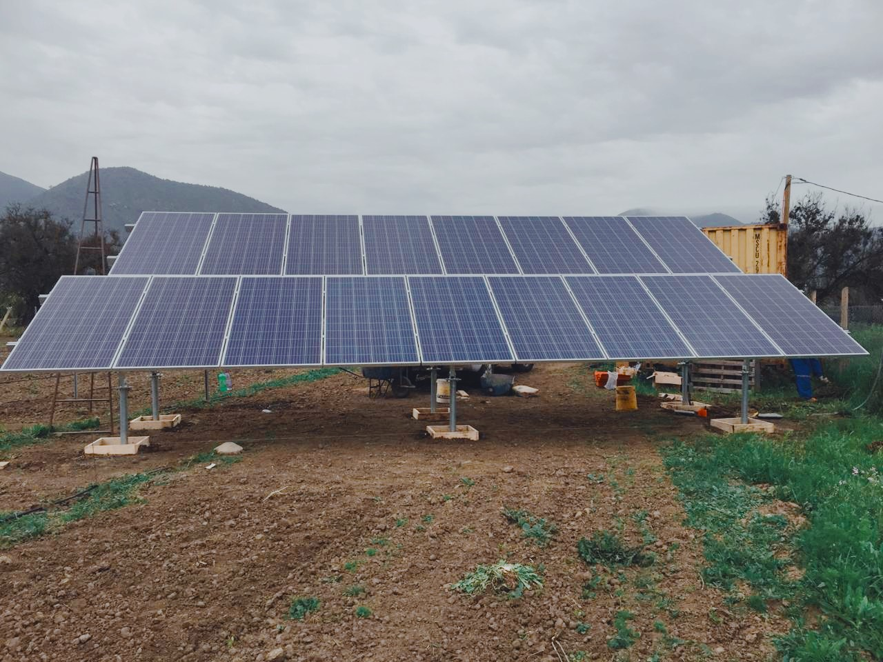 Ground mount solar racking systems