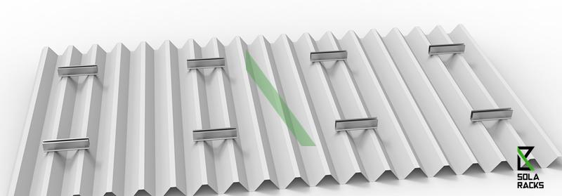 railless solar mounting system, rail free solar mounting system, short rail bracket solar mounting system, short rail mounting system, no rail solar mounting system, Solaracks Surf mounting system